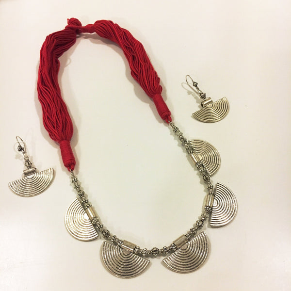 Threaded Tribe Necklace Set
