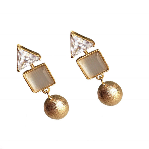 Worthy Spark Geometric Earrings