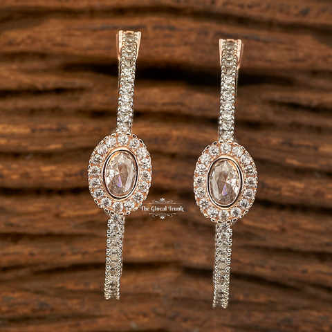 Artemis Cz Full Hoop Earrings