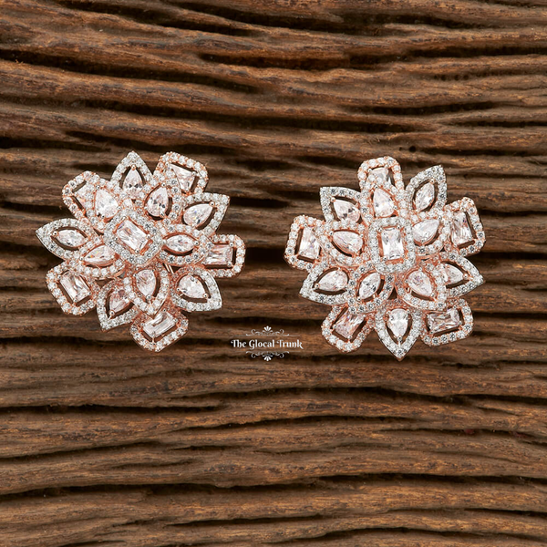 Athena Cz Stud Top Earrings