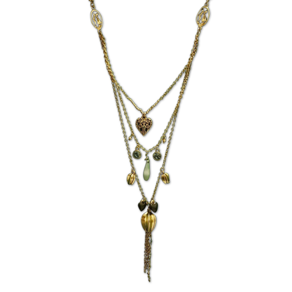 Charm Me Multilayered Link Necklace
