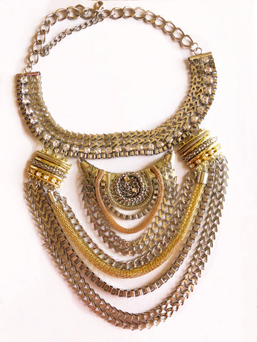 Sand Dune Karisma Multichain Necklace