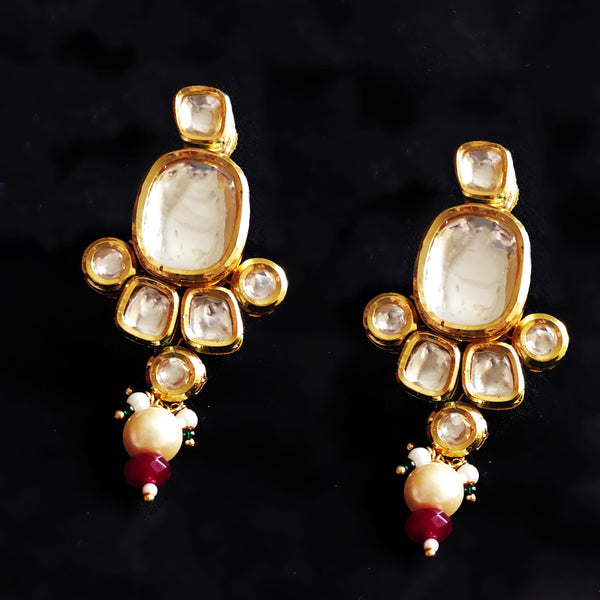 Rajwada Royal Kundan Earrings