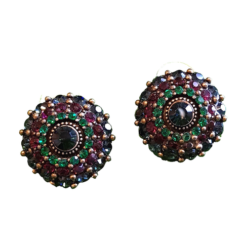 Bling Bohême Top Stud Earrings