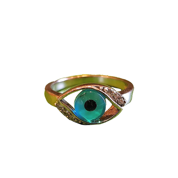 Mini Evil Eye Resin Ring