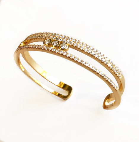 Summer Star Gold Bracelet Cuff