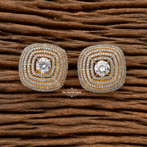 Hestia Cz Stud Top Earrings