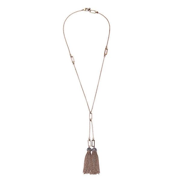 Tassel Me On Long Necklace
