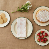FOLKSGLOVE Foxglove Napkin - with strawberries