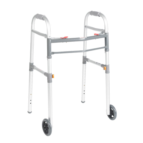 drive-medical-two-button-folding-universal-walker-with-5-wheels-10253-1