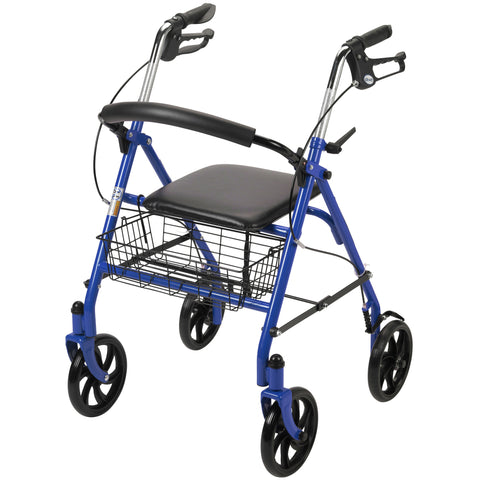 drive-medical-four-wheel-walker-rollator-with-fold-up-removable-back-support-10257bl-1
