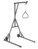 drive-medical-heavy-duty-trapeze-with-base-and-wheels-silver-vein-13039sv