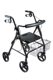 drive-medical-dlite-walker-rollator-with-8-wheels-and-loop-brakes-750nbk