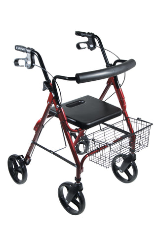 drive-medical-dlite-walker-rollator-with-8-wheels-and-loop-brakes-750nr