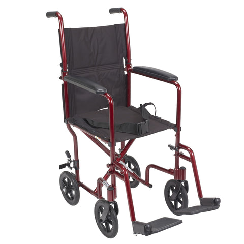 drive-medical-lightweight-transport-wheelchair-atc19-rd