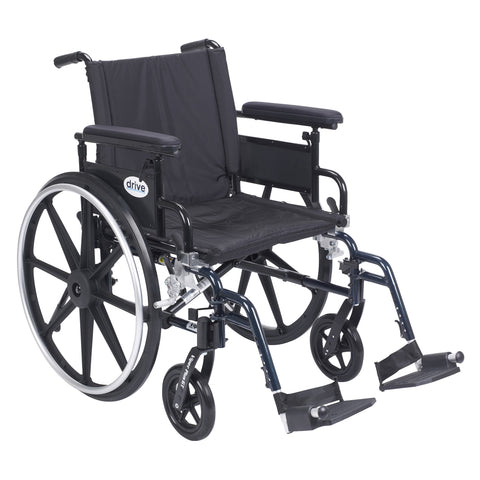 drive-medical-viper-plus-gt-wheelchair-with-flip-back-removable-adjustable-arm-pla420fbfaarad-sf