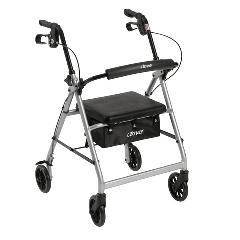 drive-medical-walker-rollator-with-6-wheels-fold-up-removable-back-support-and-padded-seat-r726sl