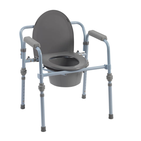 drive-medical-folding-bedside-commode-with-bucket-and-splash-guard-rtl11148kdr