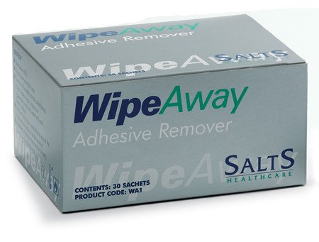 Salts WA1 Wipeaway Adhesive Remover Wipes