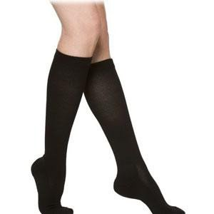 Sigvaris 362CXLM99 Cushioned Mens Calf High Compression Stocking, Size Extra-Large Long, 20 - 30mmhg, Black (1 Pair Per Box)