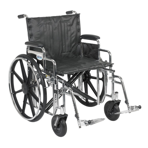 drive-medical-sentra-extra-heavy-duty-wheelchair-std22dda-sf