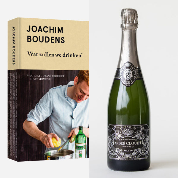 Gift - Book Joachim Boudens + Champagne André Clouet Extra Brut - Hertog