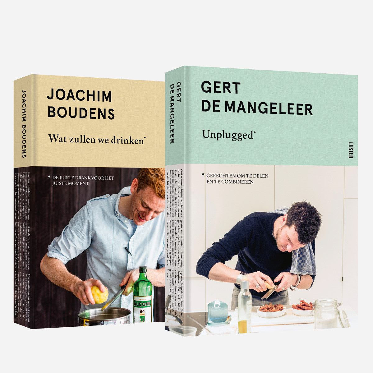 Bundle - Books: Unplugged & Wat zullen we drinken - Hertog