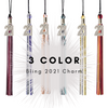 3 Color 2021 Bling Charm