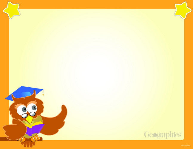 Wise Owl School Certificates  --  25 Count