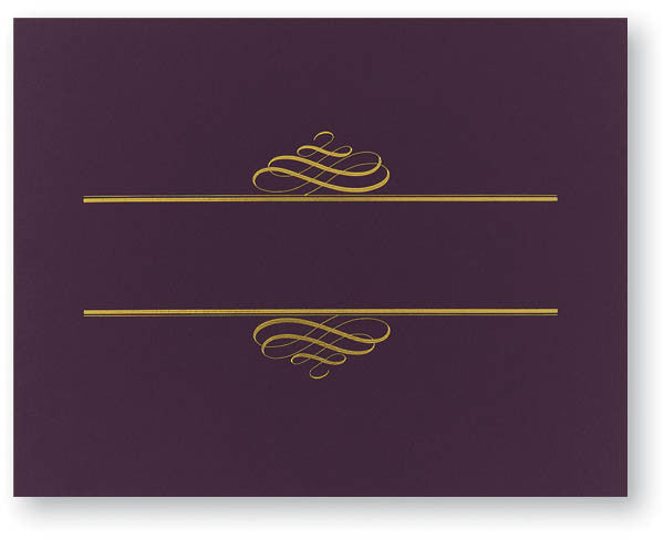 Plum Value Certificate Cover  -- 5 Count