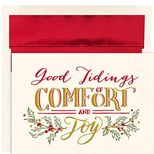 Comfort & Joy Masterpiece Studios Boxed Holiday Cards 2018