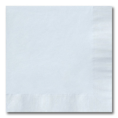 Heavenly Blue Beverage Napkins