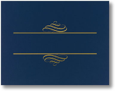 Navy Value Certificate Cover  --  5 Count