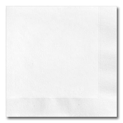 Recycled White Luncheon Napkinss