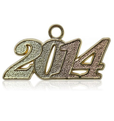 Year 2014 Drop Date Signet for Graduation Tassel