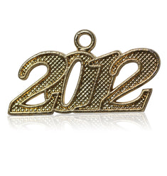 Year 2012 Drop Date Signet for Graduation Tassel