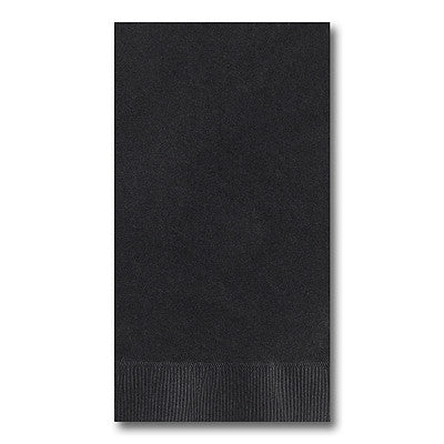 Black Guest Towel