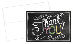 Chalkboard Thank You Notes 24 Count