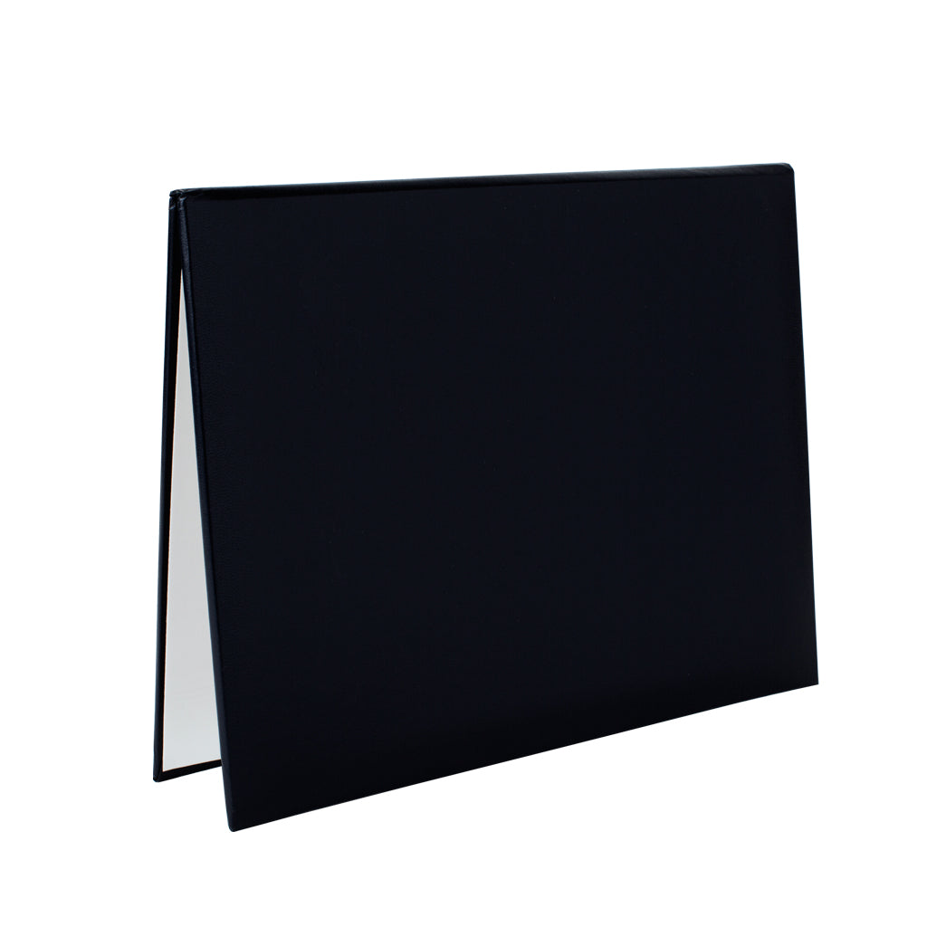 "Black Diploma Cover 8.5"" x 11"" - pack of 5"