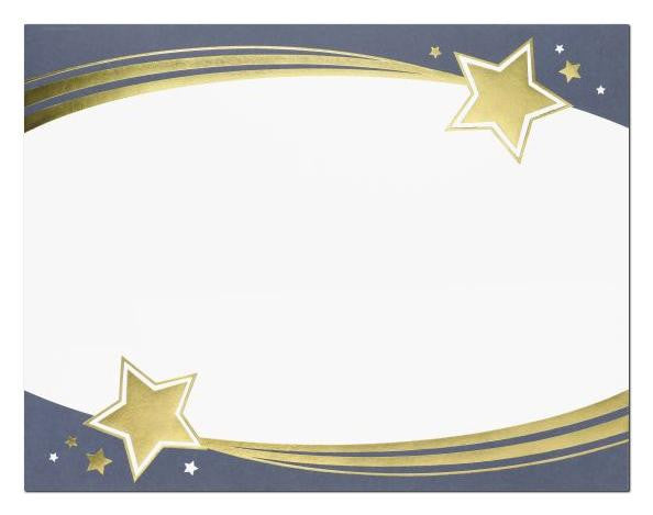 Shooting Stars Foil Certificate  -- 15 Count