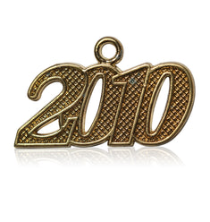 Year 2010 Drop Date Signet for Graduation Tassel