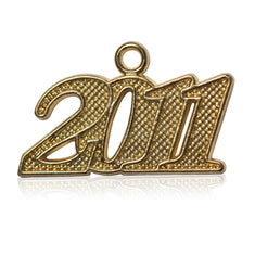 Year 2011 Drop Date Signet for Graduation Tassel
