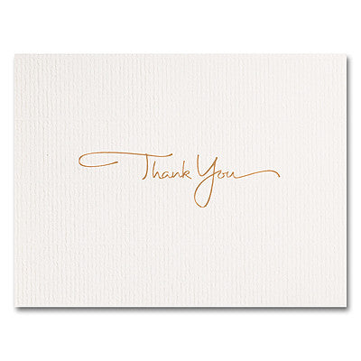 Mini Thank You  -  25 Cards and Envelopes