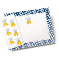 Blue Border Certificate Kit with Seals  --  12 Count