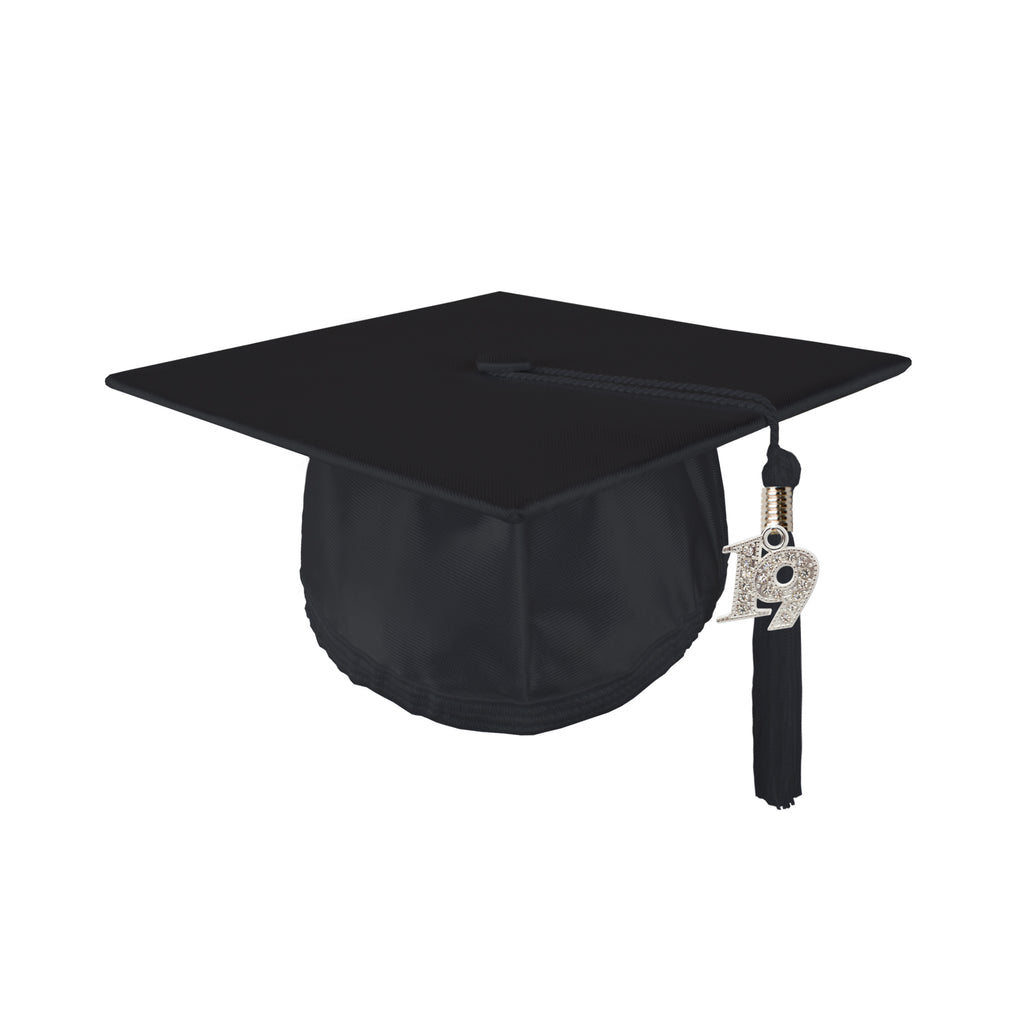 Youth Unisex Shiny Graduation Cap with 2019 Bling Tassel
