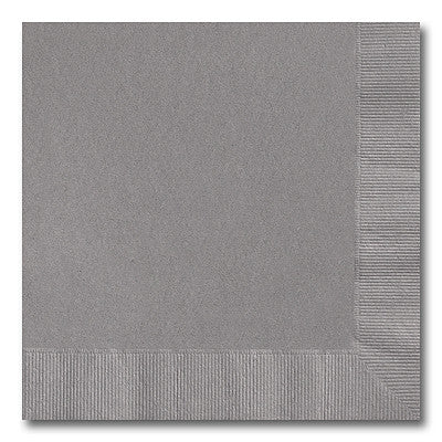 Pewter Beverage Napkins
