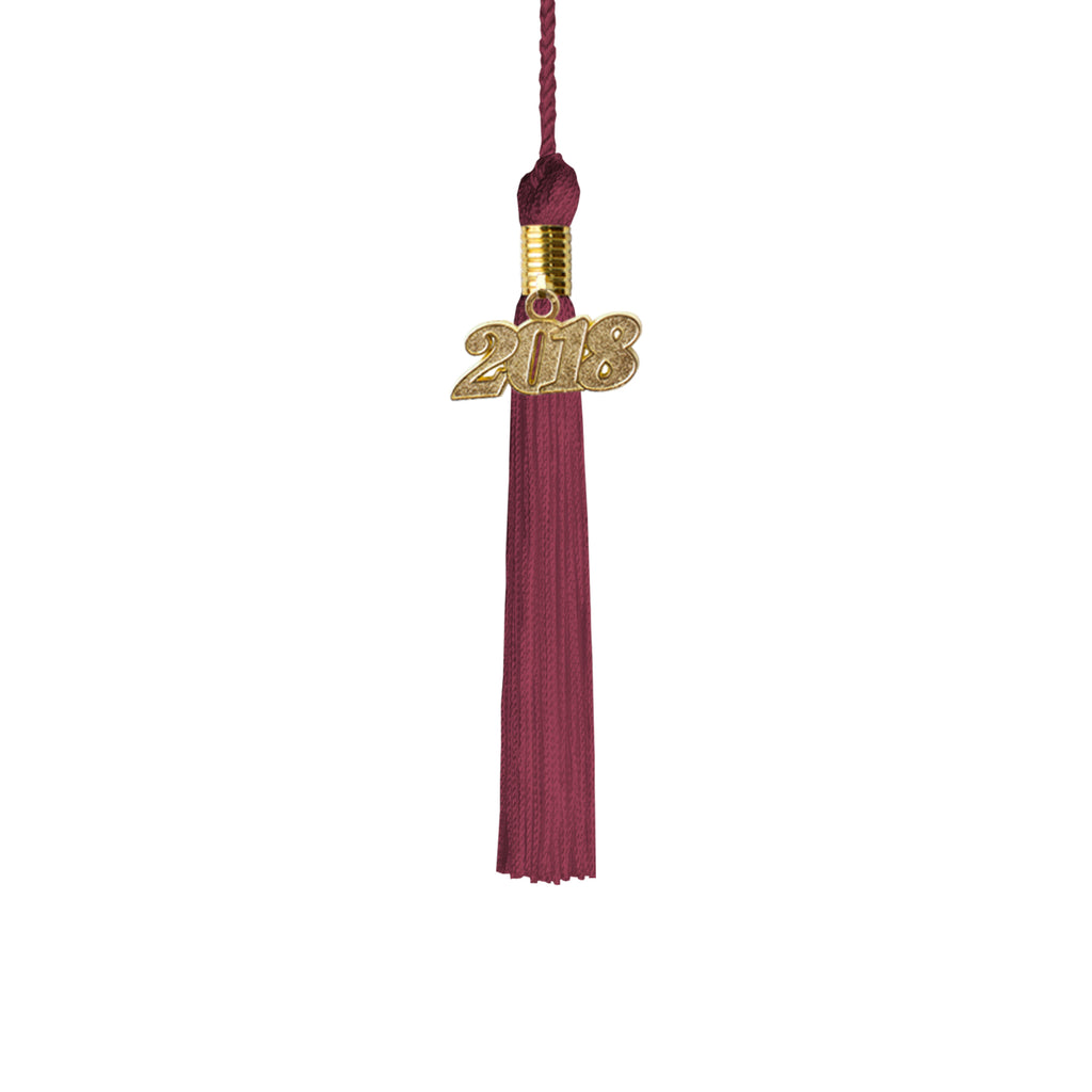 Kindergarten Graduation Tassel Year 2018 with gold charm