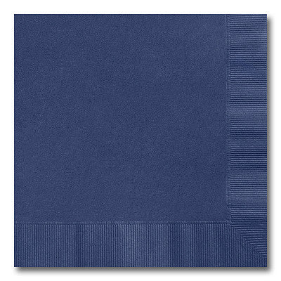 Navy Blue Luncheon Napkins