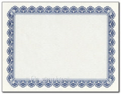 Royalty Blue Certificate  --  50 Count