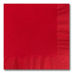 Red Luncheon Napkins